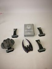 Lot Battlestar Galactica Titanium Die Cast Extra Stands and Playing Cards
