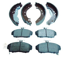 ROVER 25 45 200 214 216 400 414 REAR BRAKE SHOES SET & FRONT BRAKE DISC PADS