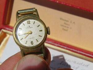 RARE 1960's Vintage VOLKSWAGON Commemorative WATCH Karman Ghia !