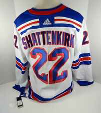 Mens New York Rangers Kevin Shattenkirk #22 Authentic Adidas White Jersey 2XL 56