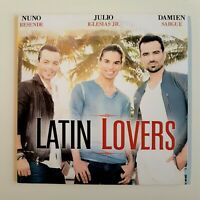 LATIN LOVERS (RESENDE - JULIO IGLESIAS - DAMIEN SARGUE) 6-TK ♦ CD Single Promo ♦