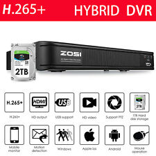 ZOSI 1080P Lite H.265+ 8 Channel Video Surveillance DVR for Security Camera HDD