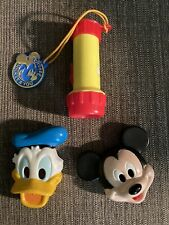 Vintage Disney featuring Mickey Mouse and Donald Duck Flashlight Am08
