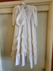 Christening Gown Long Sleeved