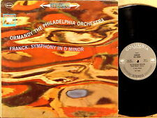 COLUMBIA 2-EYE STEREO Franck ORMANDY Symphony in D Minor MS-6297