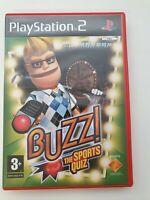 Buzz Sports Quiz (Sony PlayStation 2, 2006) - UK Version