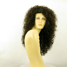 Perruque femme longue ondulée châtain EMELINE 6