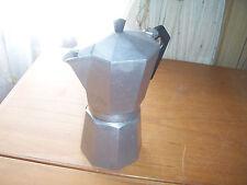 A Large Italian Bialetti Crusinallo Cast Aluminium Stove Top Coffee Pot