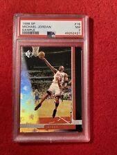 1996 SP Sample Michael Jordan #16 PSA 7