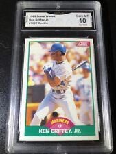 1989 Score Traded Ken Griffey Jr Rookie RC #100T Gem Mint 10