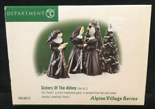 Department 56 - Alpine Village - Sisters Of The Abbey (Set of 2) #56213