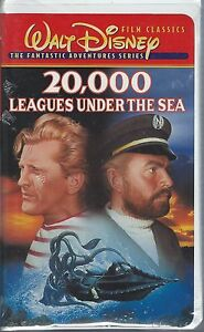 20,000 LEAGUES UNDER THE SEA VHS STILL SEALED IN ORIGINAL PACKAGING