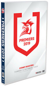 BRAND NEW NRL Premiers 2019 - Sydney Roosters : Grand Final DVD R4
