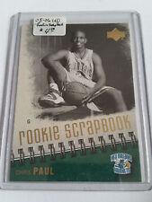 2005-06 Upper Deck Rookie Scrapbook #6 Chris Paul : New Orleans Hornets