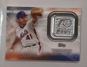 Carte de Baseball Topps - Tom Seaver - New York Mets Patch 70Th