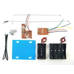 Simple Radio RC Transmitter Receiver Kit for DIY RC Boat Car Projects(27M 4CH)