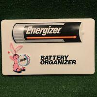 RARE Vintage Energizer Bunny Plastic Battery Organizer Case