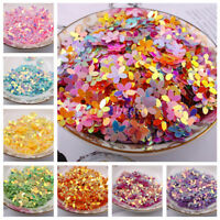 100Pcs 10mm Shiny Loose Sequins Paillettes Sewing DIY Craft for Clothes Wedding