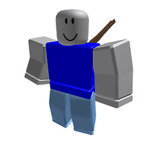 3x Used Roblox Noob Toy