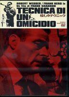 TECNICA DI UN OMICIDIO 1967 FRANCO NERO DVD CON AUDIO ITALIANO PARI AL NUOVO