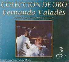 3 Discs - Fernando Valades CD Canta Sus Canciones Para Ti COLECCION DE ORO
