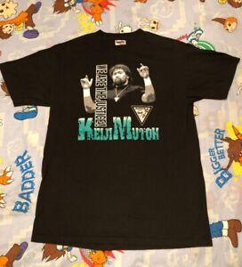 "Keiji Mutoh ""We Are The Justice"" T-Shirt NJPW/AJPW/NWA Aristrist original 90s"