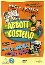 ABBOTT & COSTELLO: Meet the Killer/Meet Jekyll & Hyde *New & SEALED* Region 2