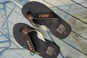 Reef Flip Flops Men's Size 8 (EUR 40) Brown Beach Sandals