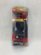 CTA Battery Charger Mini Home & Car AC/DC for Panasonic CGR-S007 CGRS007 MR-S007