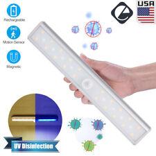 UV Disinfection Lamp Motion Sensor LED Sterilization Light for Wardrobe Kitchen