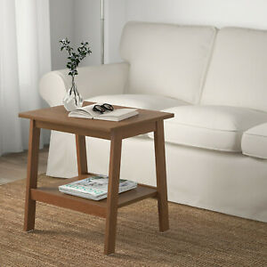 Side Table Tabletisch Tablet Night Table Braun 55x45cm