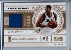 2011-12 Panini National Treasures Tyson Chandler Game Worn Patch #1/4