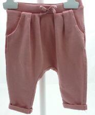 Zara pantalon forme sarouel vieux rose bébé 3/6 mois