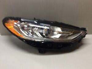 OEM 2017 2018 2019 FORD FUSION RH PASSENGER HALOGEN W/ LED DRL HEADLIGHT