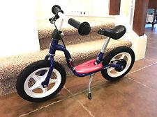 PUKY Push Bike, Captain Sharky Balance Bike Rear Brake 3+ yrs , Blue