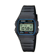 Casio F91W Watch Black Casual Vintage Retro Digital Water Warranty F91 F91W-1