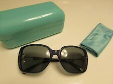NEW  AUTHENTIC TIFFANY & CO. Sunglasses TF 4101-8192 3F /  Opal Blue - Grey