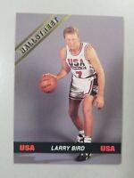 Larry Bird USA 1992 Olympic Ballstreet Card. #JL01