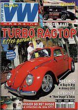 SUPER VW MAGAZINE N°252 TURBO RAGTOP/DRAG TAG BABE AOUT 2010