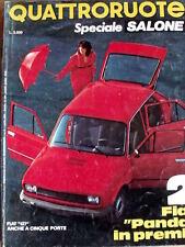Quattroruote SPECIALE SALONE - Fiat 127 a cinque porte - 22/04/1980 ed. DO [Q53]