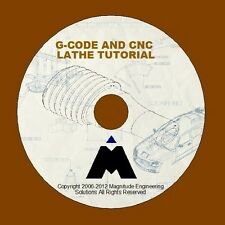 G-CODE CNC LATHE SIMULATOR TRAINING AUTOCAD ENGINEERING DRAWINGS MASTERCAM CODE