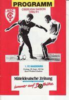 OL 90/91  HFC Chemie - 1. FC Magdeburg