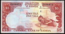 Samoa 5 Tala 2005, REPLACEMENT Z , aUNC/ UNC , P-33b