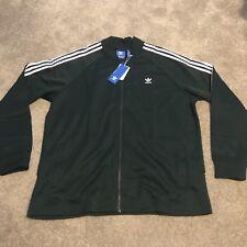Adidas Originals Mens Fashion Track Jacket Green Night BQ1884, Men Top SZ XL