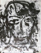Zvi milshtein THE FACE LITHOGRAPH Extremely Large Journal