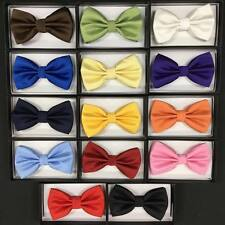 Variation of 14 colors of Bow Tie Tuxedo Wedding Formal Men's Accessories