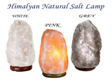 100% Authentic Salt Lamp Natural Pink Himalayan Crystal Rock Natural Quality