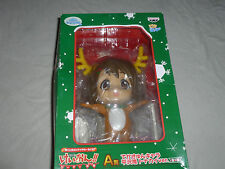 NEW IN BOX ICHIBAN KUJI K-ON! FIGURE BANPRESTO YUI HIRASAWA CHRISTMAS REINDEER >