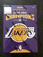 Los Angeles LA Lakers 2020 NBA Finals Champions Panini LeBron James Davis