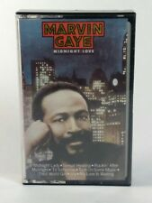 Marvin Gaye Midnight Love Cassette Tape Vintage R&B Music 1982 Columbia Records